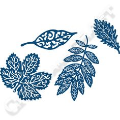 Tattered Lace Blissful Foliage Die No Colour
