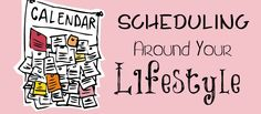 """Click here for """"Scheduling Around Your Lifestyle""""! One mom with a hubby who travels a lot shares how she makes homeschooling work!"""