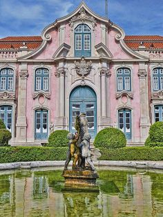 Visited in 2014 - Queluz National Palace, Lisbon, Portugal (Considered the Versailles of Portugal)