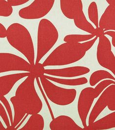 Twirly American Red - Indoor/Outdoor | Online Discount Drapery Fabrics and Upholstery Fabric Superstore!