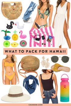 Looking for a Hawaii packing list or wondering what to bring to Hawaii? Here's a full list of what to pack for Hawaii. Usa Travel, Canada Travel, Hawaii Travel, Luxury Travel, Hawaii Hawaii, Hawaii Honeymoon, Hawaii Wedding, Thailand Travel, Japan Travel