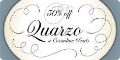 Quarzo™ - Webfont & Desktop font « MyFonts