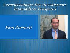 Sam Zormati: Une personne qui sait ce qu'il veut personnellement et financièrement, un go-getter, un preneur de risque. Bien que certaines universités offrent des cours et des programmes qui profitent spécifiquement aux investisseurs immobiliers, un diplôme n'est pas nécessairement une condition préalable à un investissement rentable. Voici quelques caractéristiques que les investisseurs réussis ont en commun.