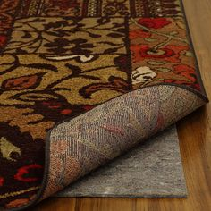 Designed to prevent accidents, increase comfort, and extend your area rugs lifespan, this nonslip felt rug pad is suitable for placement beneath area rugs laid on carpet or hard flooring surfaces. This useful rug pad measures 6 x 9.