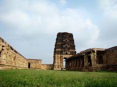 Beautiful view of Madhavaraya temple, Gandikota