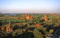 Bagan, capitale du royaume de Pagan