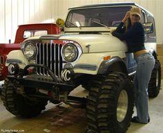Hot Mopar Page 70 - General Discussion - Mopar Forum jeep girl. Trucks And Girls, Car Girls, Girls 4, Jeep Cj7, Jeep Wranglers, Jeep Jeep, Jeep Garage, Camper, Jeep Baby