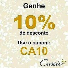 ✨ Ainda dá tempo!!!  Semijoias folheadas com garantia em até 6x sem juros, frete grátis para compras acima de R$ 150,00 e 10% de desconto!!!   ☆ ⚪⚪⚪⚪⚪⚪⚪⚪⚪⚪⚪⚪⚪⚪☆  ⏩ USE O CUPOM DE DESCONTO CA10 E GANHE 10% DE DESCONTO. PROMOÇÃO VÁLIDA ATÉ 31.08.2015 ⏪ ☆ ⚪⚪⚪⚪⚪⚪⚪⚪⚪⚪⚪⚪⚪⚪☆  #Cassie #semijoias #acessórios #folheado #folheadoaouro #dourado #zirconias #instajoias #instasemijoias #cupomdedesconto #desconto #lookdodia #Anel #anéis #brincoslindos #colar #pulseira #Charm #berloques