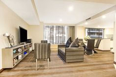 The Bellerive Suite at World Square. Penthouses, Divider, Room, Furniture, Home Decor, Mulches, Bedroom, Decoration Home, Room Decor