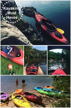 Kayaking Must Haves (I need/use) Great guide for beginners