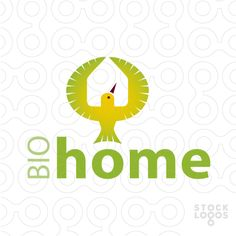 Exclusive Customizable Logo For Sale: Bio Home | StockLogos.com