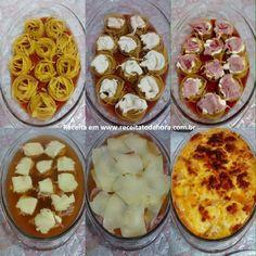 O Macarrão Assado Gratinadoé um prato prático, completo e muito saboroso! Com ele, você não perde tempo na cozinha e ainda oferece uma refeição deliciosa