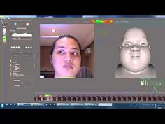 Faceshift test Kinect without marker