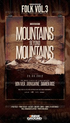 Cool mountains graphics.