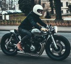 Long and low CB750