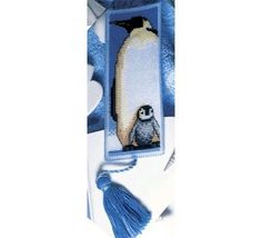 Cross-stitch Penguin Bookmark, part 1...    Gallery.ru / Фото #123 - разности - gada