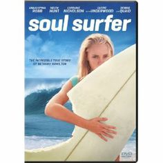 Soul Surfer is the true story of teen surfer Bethany Hamilton,who lost her arm in a shark attack and courageously overcame all odds to become a champion again, through her sheer determination and unwavering faith. All-star cast, Anna Sophia Robb, Helen Hunt, Carrie Underwood and Dennis Quaid. In the wake of this life-changing event, Bethany's feisty determination and steadfast beliefs spur her toward an adventurous comeback that gives her the grit to turn her loss into a gift for others.