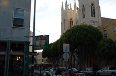 Photo of North Beach - San Francisco, CA, United States. Cafe Trieste and St. Francis