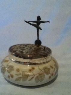 vintage box powder- musical | eBay
