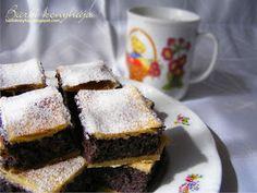 Barbi konyhája: Mákos kocka Barbie, Baking, Food, Poppy, Polish, Vitreous Enamel, Bakken, Essen, Meals