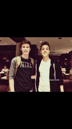 Matt Espinosa and Shawn Mendes~it doesn't get any better... Unless I took they're shirts... AMEN!!!!