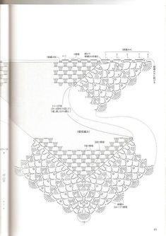 Risultati immagini per baktus uncinetto tutorial