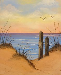 I am going to paint Ocean Serenity at Pinot's Palette - Bricktown to discover my inner artist!
