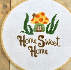 146 Best Embroidery Home Sweet Home Images In 2019 Embroidery