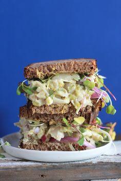 vegan no tuna sandwi