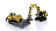 3:1 scale crawler tractor Minecraft Project