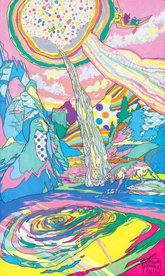 Landscapes by ASAKURA KOUHEI, via Behance