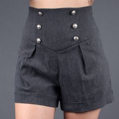 I own four pairs of high waisted shorts. They look terrible on me but I don't care. Cool Outfits, Summer Outfits, Diy Couture, Love Fashion, Fashion Outfits, High Waisted Shorts, Dress To Impress, Ideias Fashion, Short Dresses