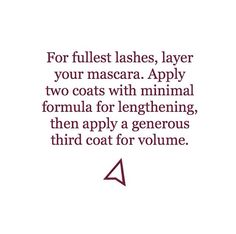 Make sure to let dry before applying more! #makeuptips #makeupmonday #mascara #wanderbeauty