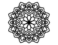 Celtic Mandala Coloring Page To Color Print Or Download Online With This Game