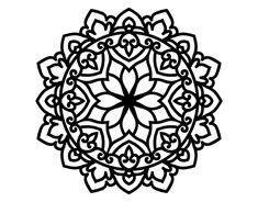 Dibujo de Mandala celta para colorear