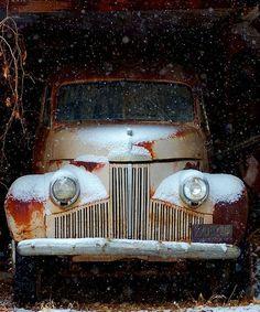 Studebaker in the Snow