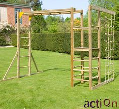 Monkey Bars without Slide