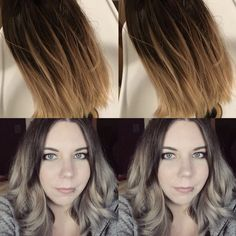 Grey Hair, Olaplex, Balayage