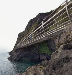 Brace yourselves, people. If you were not already convinced Northern Ireland was great to visit, this will make you change your mind. Indeed, on the 19th of August of 2015 was reopened The Gobbins Cliff Path. That is worth talking about it.