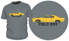 """Save 10% On Your """"Field Day"""" 'Cuda T-Shirt! - http://barnfinds.com/field-day-cuda-t-shirt-sale/"""