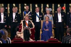 King Alexander and Queen Maxima of the Netherlands.