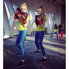 Strong women! One nigdy się nie poddają :)  #fitadndjump #reebok #training #sport #fitness