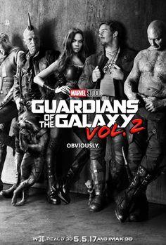 Les Gardiens de la Galaxie Vol. 2 : l'équipe se renforce
