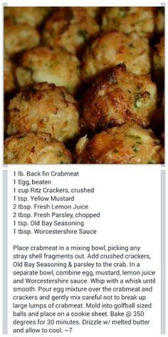 Crab Recipe