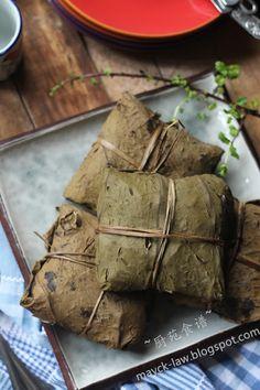 Kitchen Garden Rezept: Bestes Rezept # 12 bis zum Dessert, Lotusblatt klebriger Reis [28] BREE # 12 ~ Dim Sum (glutenhaltigen Reis in Lotus-Blätter)