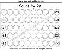 Skip Counting by 20 – Count by 20s