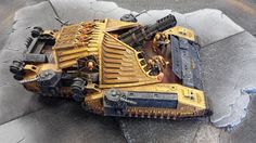Invictus Rex Super-Heavy Tank.