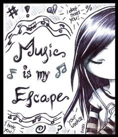 Music ✫ haha I found this picture a while back and drew it