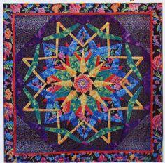 Fiesta Kaleidoscope quilt