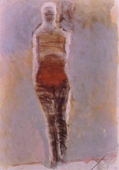 Neri Untitled Charcoal Manuel Neri. Untitled Charcoal, pastel and gouache, ...    rehistoricizing.org